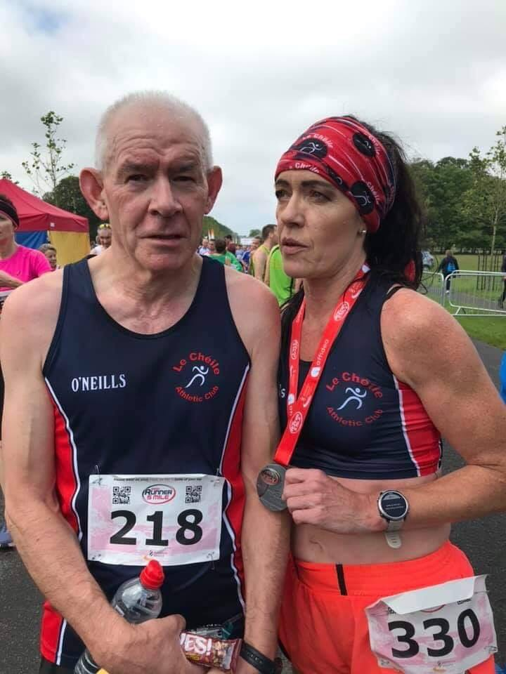 Brian and Lisa 5 mile silvers